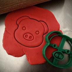 IMG_E7239.JPG Download STL file Cookie cutter - Pig • Template to 3D print, Tvoritko