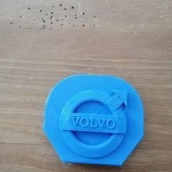 IMG_20200408_171314[1].jpg Download STL file Fifth wheel cover 74x64 Volvo Tamiya 1/14 • 3D printing model, thefailur