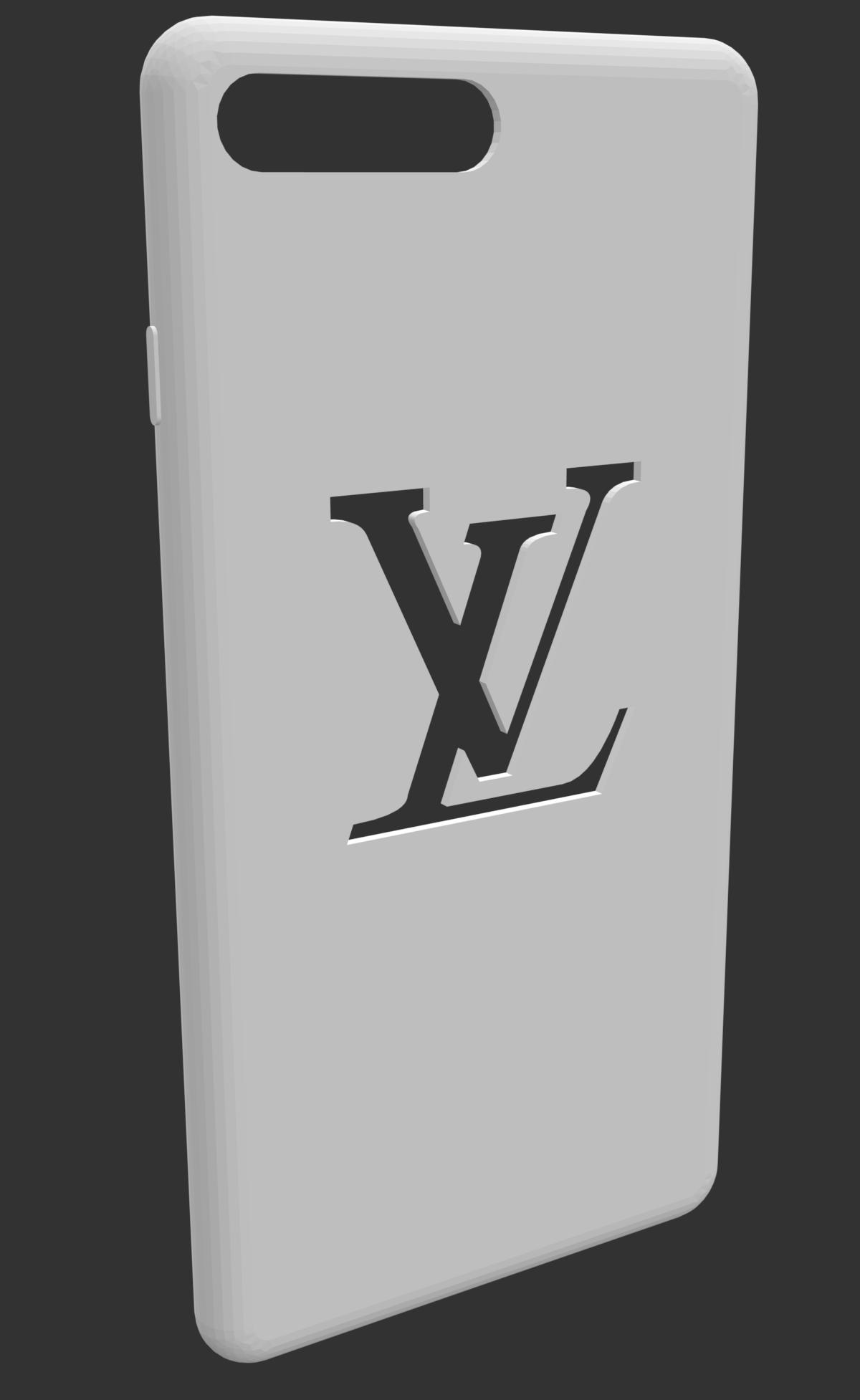 Schermata 2019-12-06 alle 21.42.44.png Télécharger fichier STL gratuit Housse iPhone 7/8 Plus avec logo LV sottration • Design pour imprimante 3D, MiGiranoForte