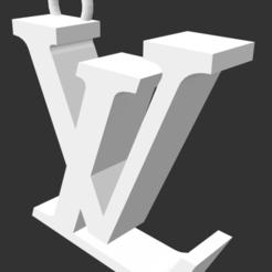 Impresiones 3D gratis Colgante LV, MiGiranoForte