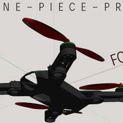 drone-foldable_1_orig_1.jpg Download STL file FOLDABLE ONE-PIECE ! QUADCOPTER (Waxplast WP01fly330  fpv drone DJI 350qx mavik spark) • 3D printing model, alexgiorge87