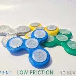 Senza_titolo-4.jpg Download STL file Fidget Spinner - low friction - no bearing! - fullprintable • 3D printer template, alexgiorge87