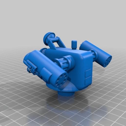 ba4f6536a52c56f1a06b795f6f0276ae.png Download free STL file Anti-aircraft tower for 28mm wargames, Warhammer, Star wars, Gas lands ect • 3D print model, redstarkits