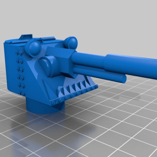 189ed2c79fb881bd5dd95f4808d407da.png Download free STL file Ork / Orc armoured Light attack vehicle / War Buggy • 3D printing object, redstarkits