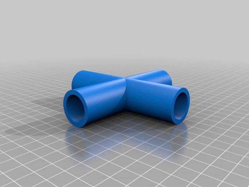 20c7bacf95af70f9981c124409e86430.png Télécharger fichier STL gratuit Sci-fi Réseau de tuyaux modulaire pour les paysages de wargaming • Objet à imprimer en 3D, redstarkits