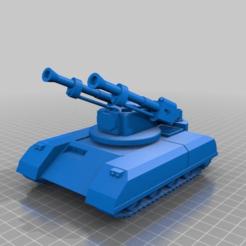 Télécharger fichier 3D gratuit ork / orc Flak tank 28mm wargames véhicule, redstarkits