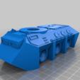 Télécharger modèle 3D gratuit Fourmis WAPC pour le transport de troupes à pied de science-fiction pour les wargames de science-fiction 28mm ou la fabrication de mdel de science-fiction, redstarkits
