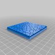 Cracked_Paving__80mm_square_1.png Télécharger fichier STL gratuit Dallage fissuré / Bases carrées à effet de lave pour la saga Dungeon, Kingd of war, Warhammer fantasy battle etc • Objet imprimable en 3D, redstarkits