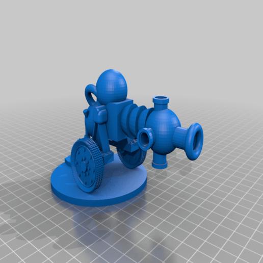 based_bubble_chucker_complete.png Télécharger fichier STL gratuit Orque / Ork Bubble Chucker bizzar arme de science-fiction 28mm sci-fi • Plan imprimable en 3D, redstarkits