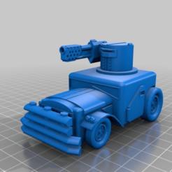 Download free 3D printer files Ork / Orc Burnna wagen  Light attack vehicle / War Buggy, redstarkits