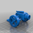 Download free 3D printer files Ork / Orc Lobba / Sci-fi howitzer 28mm wargaming, redstarkits
