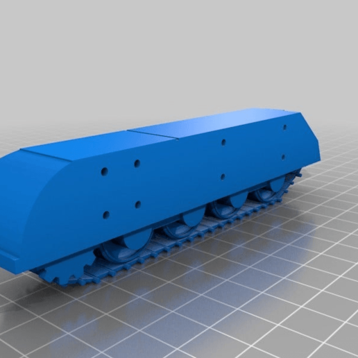 """07cd71e3e5e5b325341fc234d1f9f870.png Télécharger fichier STL gratuit Ork / Orc Tank """"Bone Breaker"""" 28mm wargames véhicule • Plan pour impression 3D, redstarkits"""