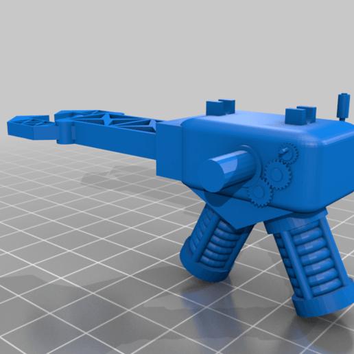 zapper_A.png Télécharger fichier STL gratuit Orc / ork Zapper / Zzzap gun 28mm wargames • Design pour impression 3D, redstarkits