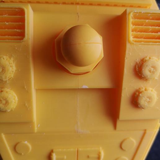 thumbnail.jpg Télécharger fichier STL gratuit Connecteur supérieur d'arme de carapace pour Lucius Reaver titan à l'échelle 28mm • Objet pour imprimante 3D, redstarkits