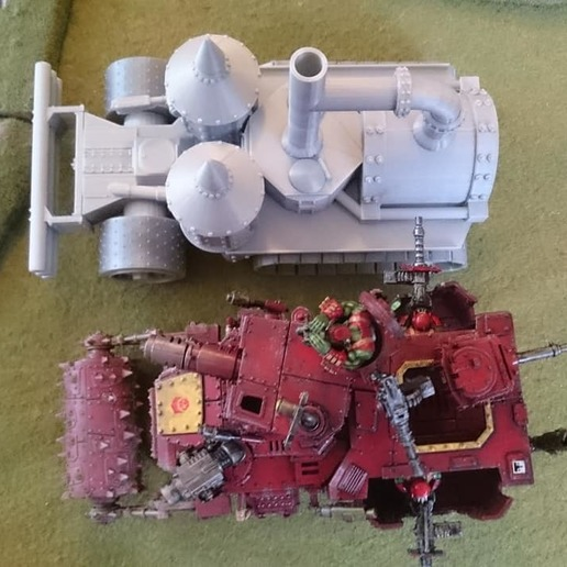39032368_2126501654257332_5385666166280683520_o.jpg Télécharger fichier STL gratuit Demi-rail à vapeur / orque / orque • Modèle pour impression 3D, redstarkits