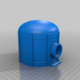 Download free STL files Gas Towers and Domes for Sci-fi Modular pipe network for wargaming scenery, redstarkits