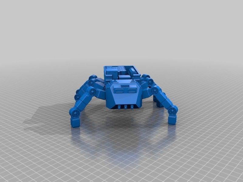 2161e2d82582abc55673ddec401f0c2e.png Télécharger fichier STL gratuit Véhicule utilitaire à fourmis à plat pour la fabrication de wargames ou de mdel de science-fiction de 28 mm • Modèle pour imprimante 3D, redstarkits
