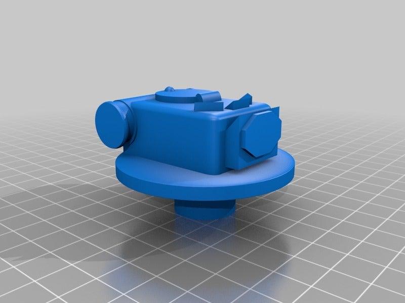 dd043056d9d8781fe895fd31113a6ac1.png Télécharger fichier STL gratuit ork / orc Flak tank 28mm wargames véhicule • Modèle imprimable en 3D, redstarkits