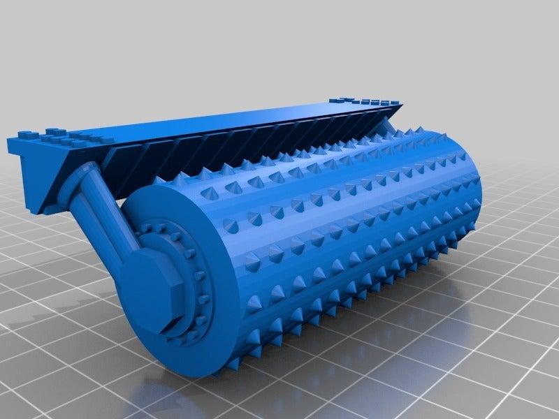 f205aa7814e4824af9a0a02aaa1e3a63.png Télécharger fichier STL gratuit Demi-châssis de forteresse de combat mobile orque / orque • Design à imprimer en 3D, redstarkits