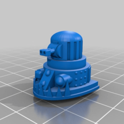 Download free STL file Extra Weapons and Heads for the Great Gargant proxy in epic scale • 3D printable object, redstarkits
