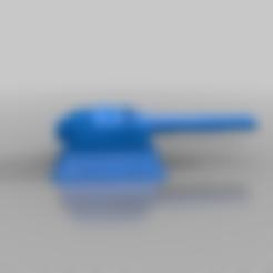 Télécharger modèle 3D gratuit Tourelle de style cuirassé pour les jeux de guerre de 28mm. Warhammer, warpath ect, redstarkits