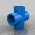Télécharger fichier impression 3D gratuit Sci-fi Réseau de tuyaux modulaire pour les paysages de wargaming, redstarkits