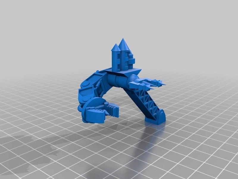 eff6493554fc3e3d5dbe0548d4210a97.png Télécharger fichier STL gratuit Ork Mega Gargant Epic 40k proxy model 6mm Titanicus • Modèle pour imprimante 3D, redstarkits
