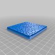 Cracked_Paving__80mm_square_2.png Télécharger fichier STL gratuit Dallage fissuré / Bases carrées à effet de lave pour la saga Dungeon, Kingd of war, Warhammer fantasy battle etc • Objet imprimable en 3D, redstarkits
