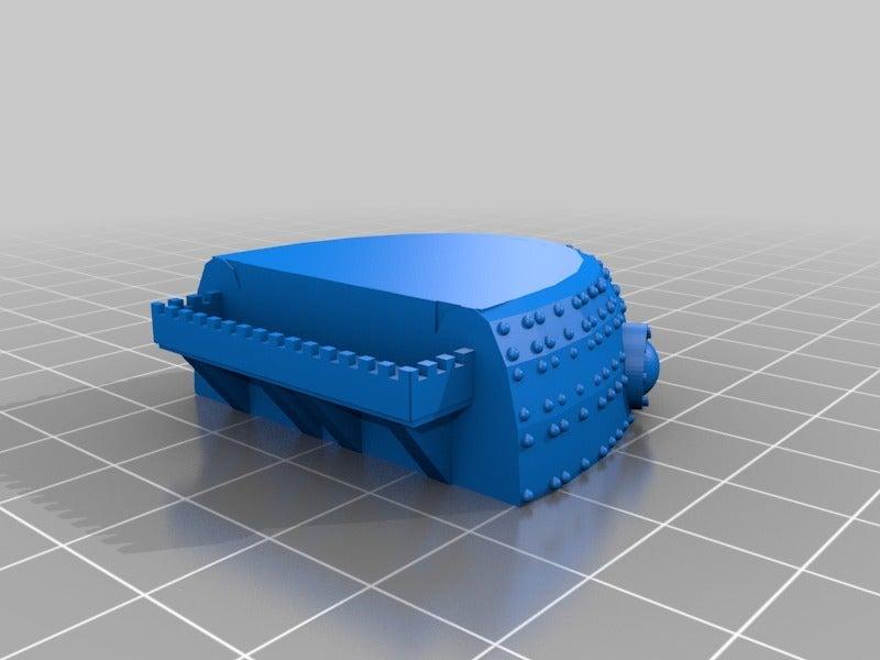 2db7b9cc46d639513d24c75d4a2c2852.png Télécharger fichier STL gratuit Ork Great Gargant 6mm Epic Scale Proxy model • Objet à imprimer en 3D, redstarkits