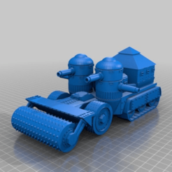 Download free 3D printing files Orc / Ork Armoured Mobile Battle fortress halftrack, redstarkits