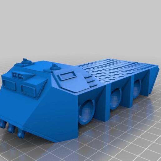 7dbc4344c5168ea42397b854ca16fbd5.png Télécharger fichier STL gratuit Véhicule utilitaire à fourmis à plat pour la fabrication de wargames ou de mdel de science-fiction de 28 mm • Modèle pour imprimante 3D, redstarkits