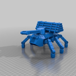 Download free 3D printing files Worker Ant Walker for 28mm sci-fi wargames or sci-fi model making, redstarkits