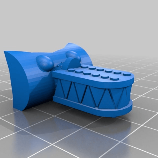 668882110595796676be52399c21c9f6.png Download free STL file Extra Weapons and Heads for the Great Gargant proxy in epic scale • 3D printable object, redstarkits