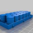 Download free STL file Battlefield Detritus for 28mm wargames set 1 • 3D printer template, redstarkits