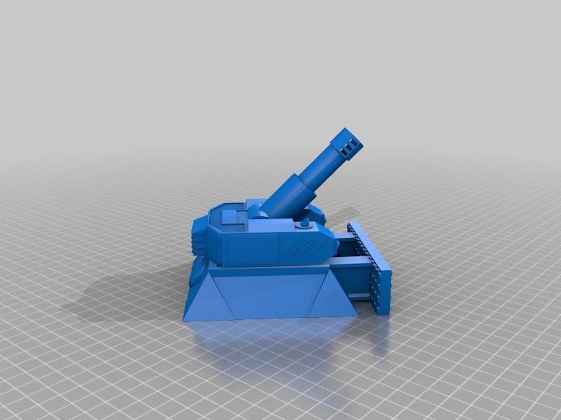 a6280f557aa564d1d56b06b6109f7a0c.png Download free STL file Heavy Mortar turret for 28mm wargames. Warhammer, warpath ect • 3D print object, redstarkits