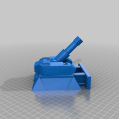 a6280f557aa564d1d56b06b6109f7a0c.png Download free STL file Heavy Mortar turret for 28mm wargames. Warhammer, warpath ect • 3D print object, redstarkits