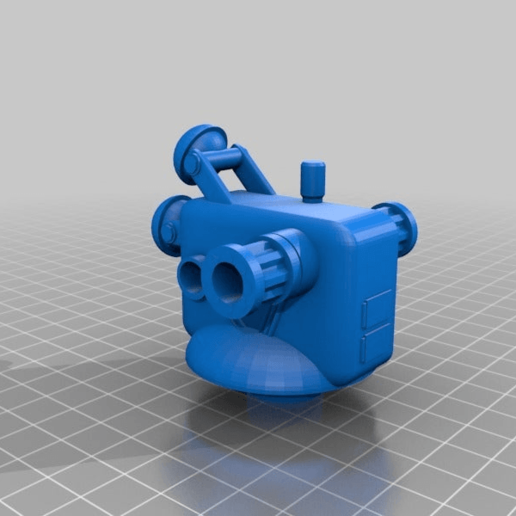 8a34a5f50d78908891cefe2116b8ee73.png Download free STL file Anti-aircraft tower for 28mm wargames, Warhammer, Star wars, Gas lands ect • 3D print model, redstarkits