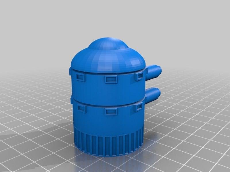 25e7e094b0496783c0994d21443c8245.png Télécharger fichier STL gratuit Demi-châssis de forteresse de combat mobile orque / orque • Design à imprimer en 3D, redstarkits