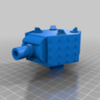 98ae3a258ec3d14c114701373fee11a9.png Download free STL file Heavy Mortar turret for 28mm wargames. Warhammer, warpath ect • 3D print object, redstarkits