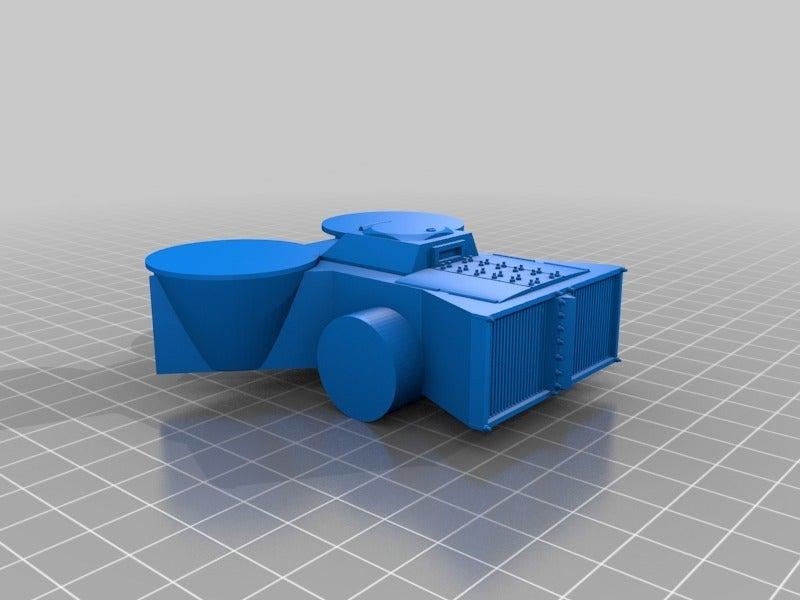 154550d8206fe50715ed4d047fd83a76.png Télécharger fichier STL gratuit Demi-châssis de forteresse de combat mobile orque / orque • Design à imprimer en 3D, redstarkits
