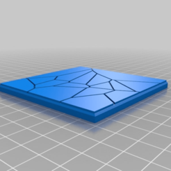6aa5cb7759ff8b405ef7e449594adb29.png Download free STL file 75mm square tiles for 3D deadzone board Set 1 • 3D printer model, redstarkits