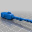 Télécharger fichier 3D gratuit Tourelle X automatisée pour jeux de guerre 28mm 40k, terrains de gaz, warpath etc, redstarkits