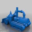 Télécharger plan imprimante 3D gatuit Blindé à vapeur Demi-piste, redstarkits