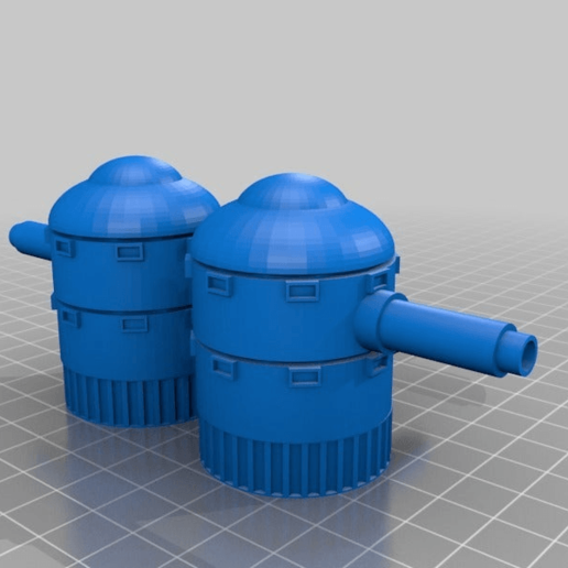 a1db64f2147beeb57c473ca2974fc8d8.png Télécharger fichier STL gratuit Demi-châssis de forteresse de combat mobile orque / orque • Design à imprimer en 3D, redstarkits