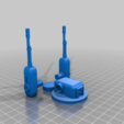 Download free STL file Alternative turrets for Ant WAPC sci-fi walking troop transport for 28mm sci-fi wargames or sci-fi mdel making • Model to 3D print, redstarkits