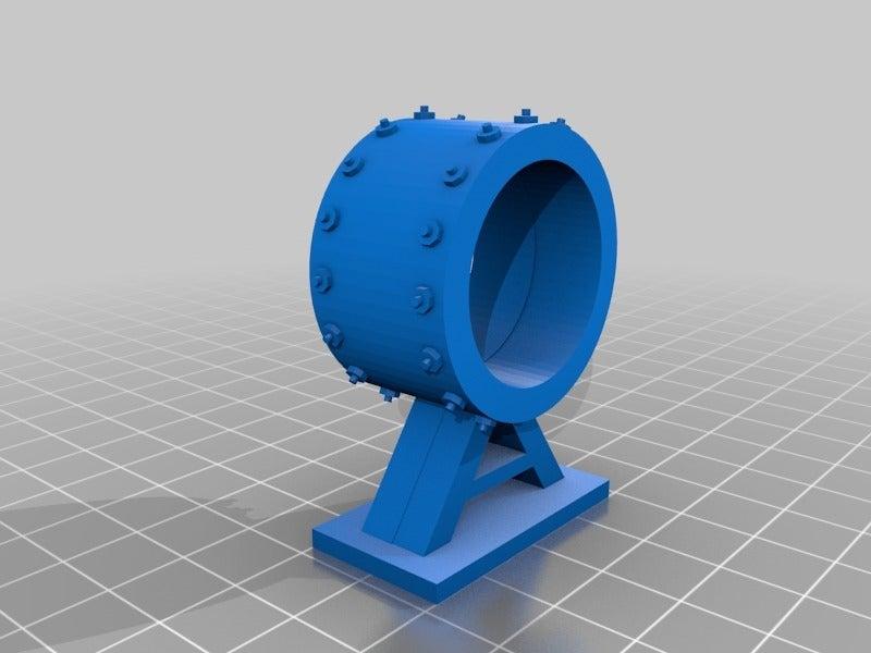 0a1f9f0bf9d8dfcd5c538c4dee7ac68d.png Télécharger fichier STL gratuit Sci-fi Réseau de tuyaux modulaire pour les paysages de wargaming • Objet à imprimer en 3D, redstarkits