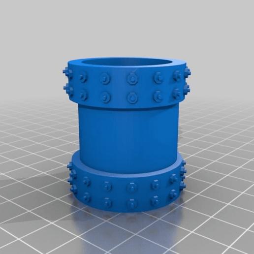 2a240f55c5947d8d40b56fe8c5374ad0.png Télécharger fichier STL gratuit Sci-fi Réseau de tuyaux modulaire pour les paysages de wargaming • Objet à imprimer en 3D, redstarkits