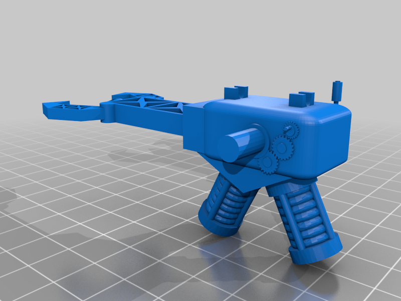 zapper_B.png Télécharger fichier STL gratuit Orc / ork Zapper / Zzzap gun 28mm wargames • Design pour impression 3D, redstarkits
