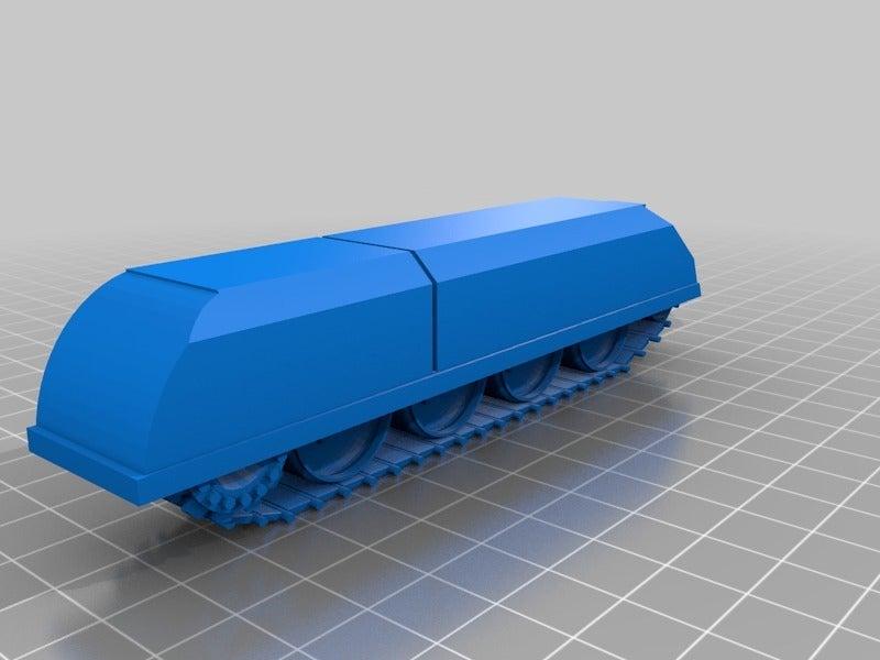 e609dda76d0734edcb966732e09e3179.png Télécharger fichier STL gratuit ork / orc Flak tank 28mm wargames véhicule • Modèle imprimable en 3D, redstarkits