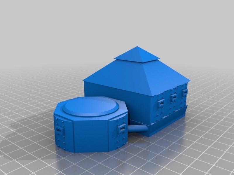 07793df566e3bcd326af7c251bc4678d.png Télécharger fichier STL gratuit Demi-châssis de forteresse de combat mobile orque / orque • Design à imprimer en 3D, redstarkits